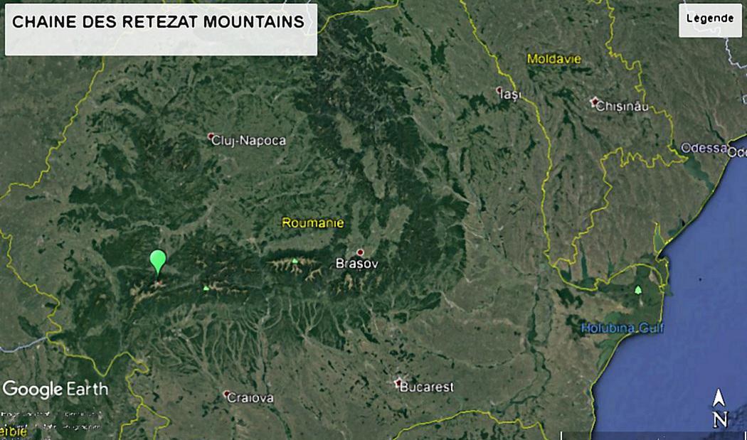 Chaine des retezat mountains 01