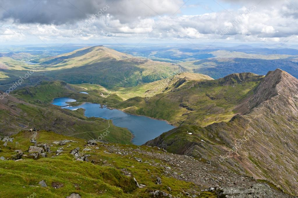 Haven vue du mont snowdon